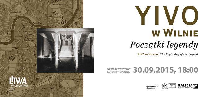 """PL:  Wystawa """"YIVO w Wilnie. Początki legendy"""""""