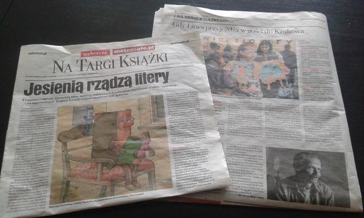 Ruduo Krokuvoje – lietuvių literatūros metas