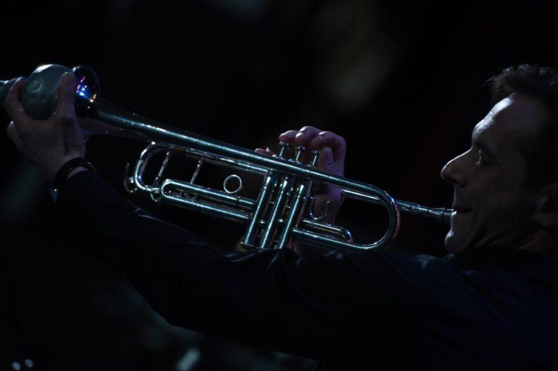 """Dainiaus Pulausko grupės koncerto tarptautiniame džiazo festivalyje """"Jednist"""" akimirkos"""