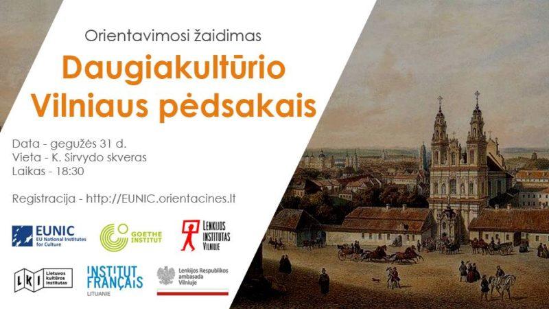 Orientavimosi žaidimas: Daugiakultūrio Vilniaus pėdsakais