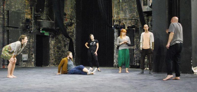 Aktorių-šokėjų atranka tarptautiniam projektui