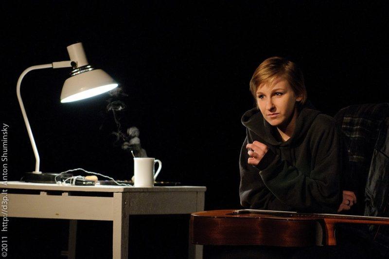 """Lietuvė aktorė """"atidarė"""" teatro festivalį Ukrainoje"""