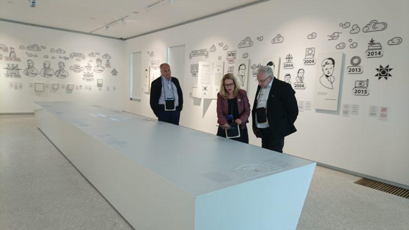 Gruzijos muziejininkai susipažino su Lietuvos muziejų naujovėmis