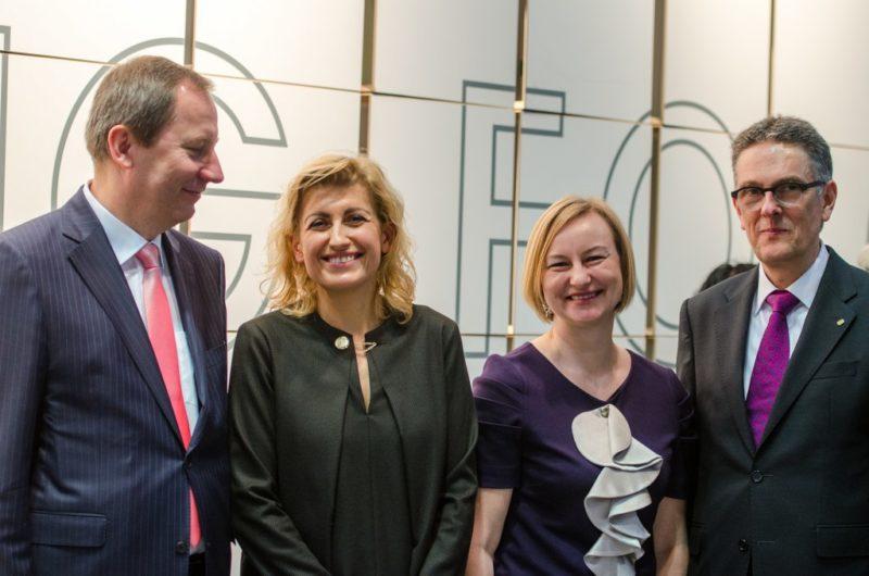 Lietuva atidarė nacionalinį stendą Leipcigo knygų mugėje