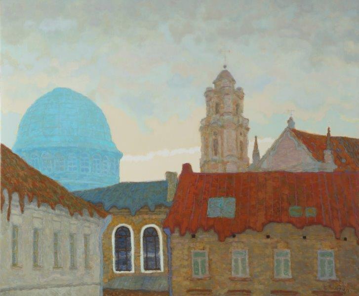 Keliaujanti šiuolaikinės lietuvių tapybos ir fotografijos paroda išvyksta į Berlyną