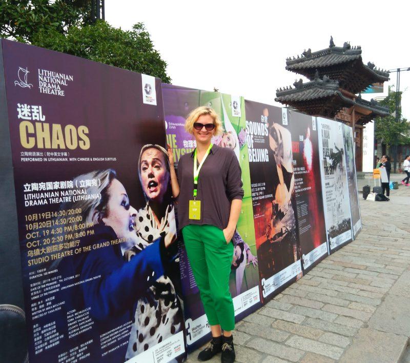 """Lietuviškas """"Chaosas"""" Vudžene, Kinijoje"""