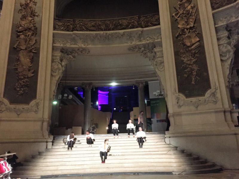 Meno centre Paryžiuje – Linos Lapelytės operos pristatymas