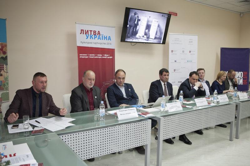 Lietuvos ir Ukrainos kultūros partnerystės projektas aktualina stiprius dviejų šalių kūrėjų ryšius