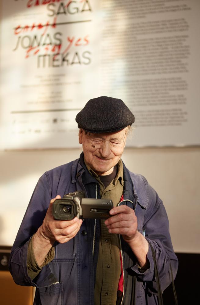 Jonas Mekas – Bergamo kino festivalyje