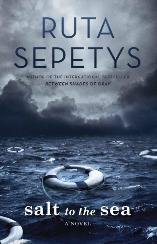 """JAV pristatoma nauja Rūtos Šepetys knyga The Salt to the Sea (""""Druska jūrai"""")"""
