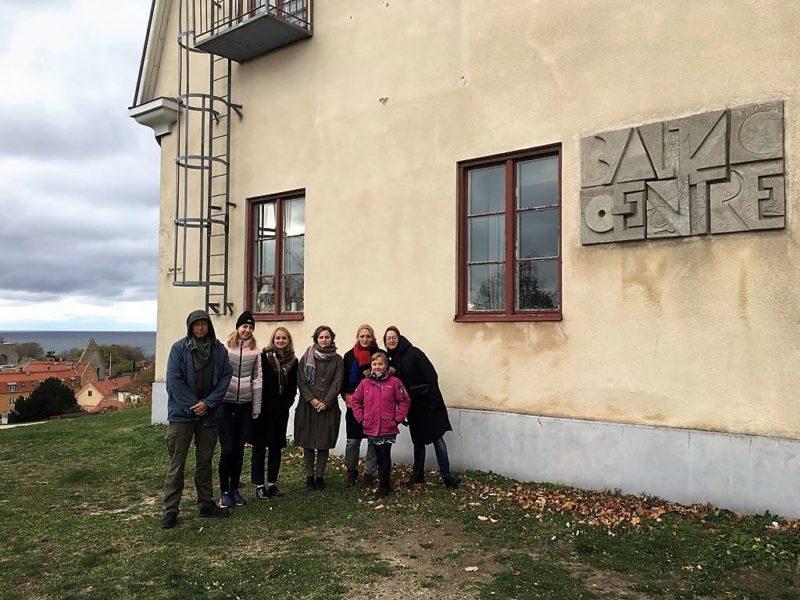 Būsimi vertėjai grūdinasi Gotlando saloje