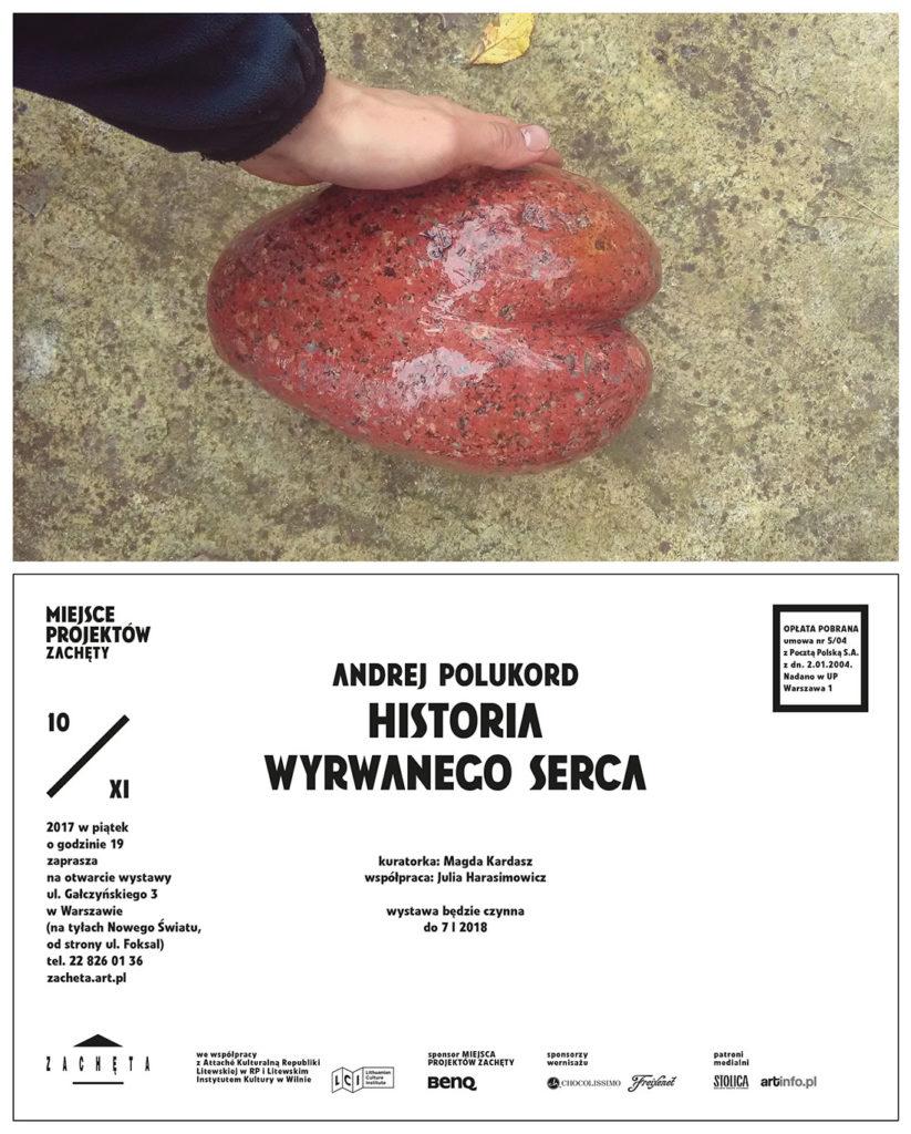 Andrejaus Polukordo paroda – nacionalinėje Varšuvos meno galerijoje
