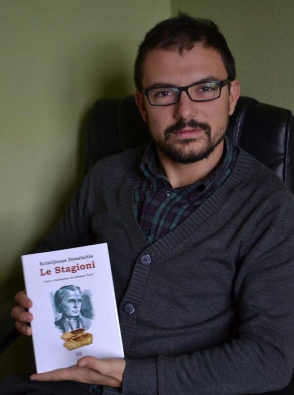 """Italų kalbininkas: K. Donelaičio """"Metai"""" yra ne tik Lietuvos, bet ir visos Europos klasika"""