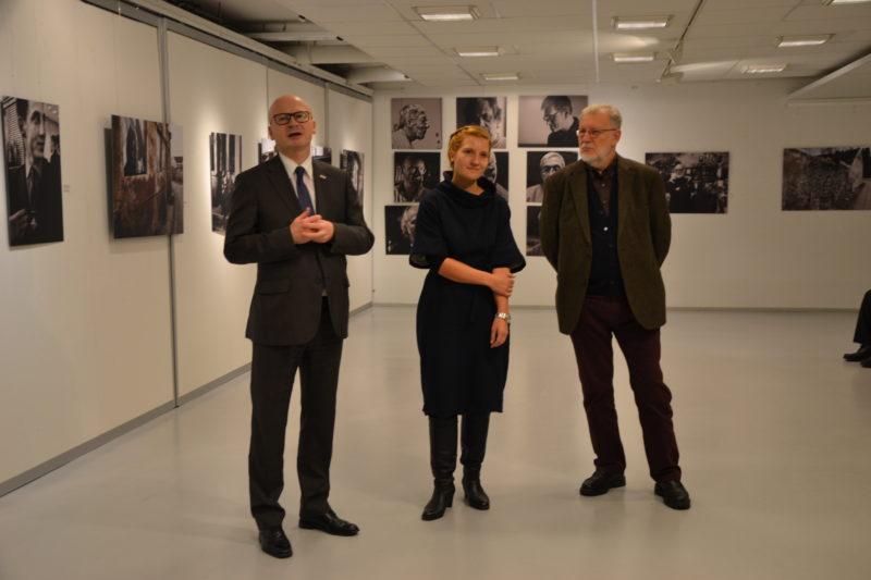 Suomijoje atidaryta Juozo Budraičio fotografijų paroda