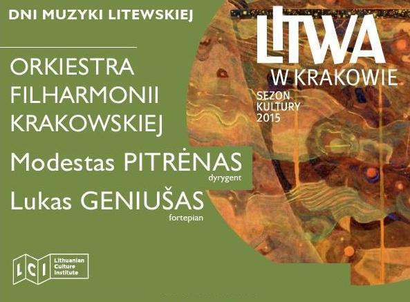 PL: Koncert muzyki symfonicznej: Čiurlionis, Morawski, Barkauskas, Grieg