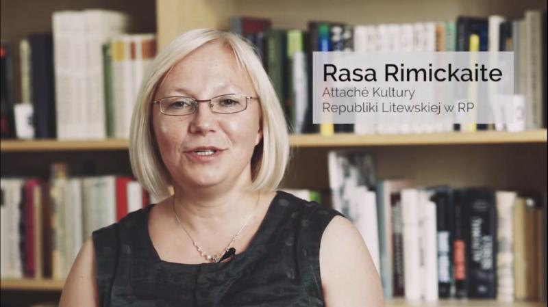 PL: Attaché Kultury Republiki Litewskiej w Rzeczypospolitej Polskiej Rasa Rimickaitė