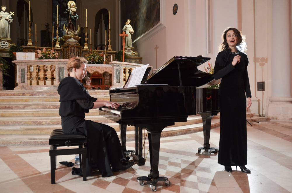 Jaunimo muzikos festivalio finaliniai koncertai užbūrė Kalėdine nuotaika tris Italijos miestus