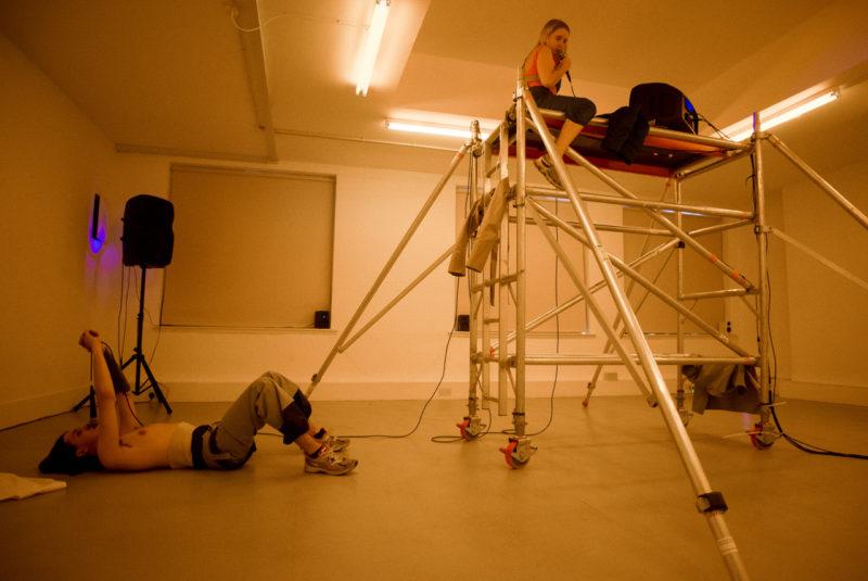 Jaunieji menininkai savo kūrybą pristatė tarpdisciplininio meno renginyje Londone