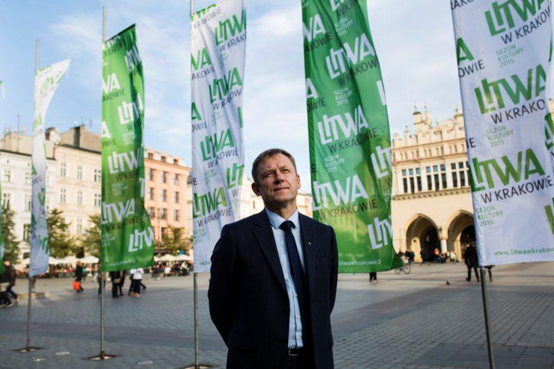 Baigiant Lietuvos kultūros pristatymo Krokuvoje projektą: kultūros ministro Šarūno Biručio interviu