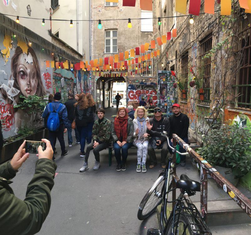 Kauno menininkai susipažino su Berlyno gatvės menu