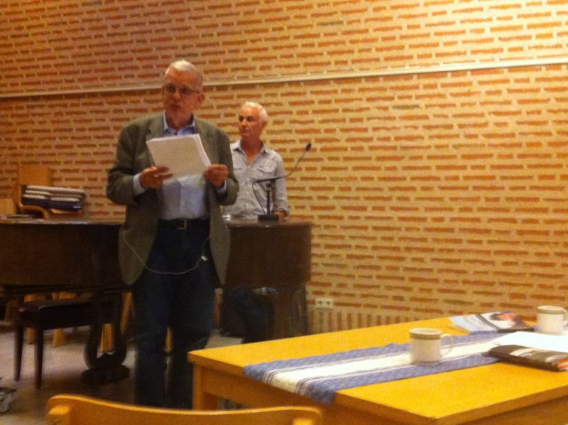 Tomas Venclova Sigtunos ir Stokholmo publikai skaitė eiles