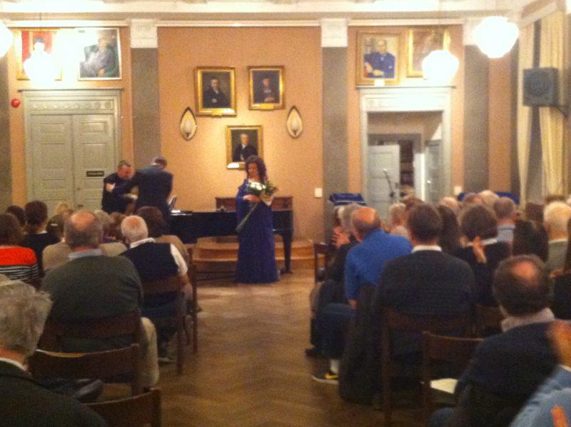 Dainininkės Juditos Leitaitės ir pianisto Andriaus Vasiliausko koncertas Stokholme