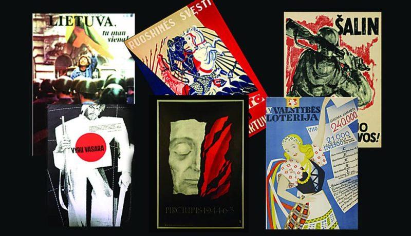 Tarptautinėje parodoje Kijeve – Lietuvos XX a. peripetijas liudijanti plakatų kolekcija