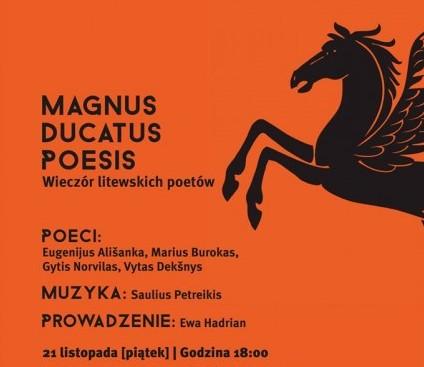 Magnus Ducatus Poesis Liubline ir Balstogėje