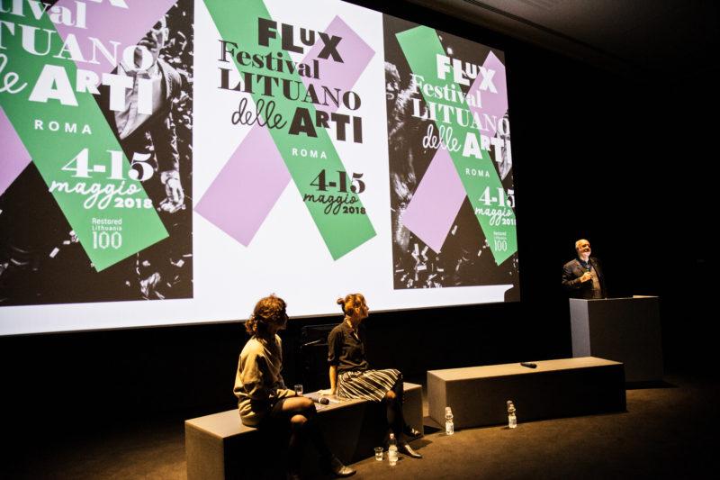 Flux. Lietuvos meno festivalis Romoje