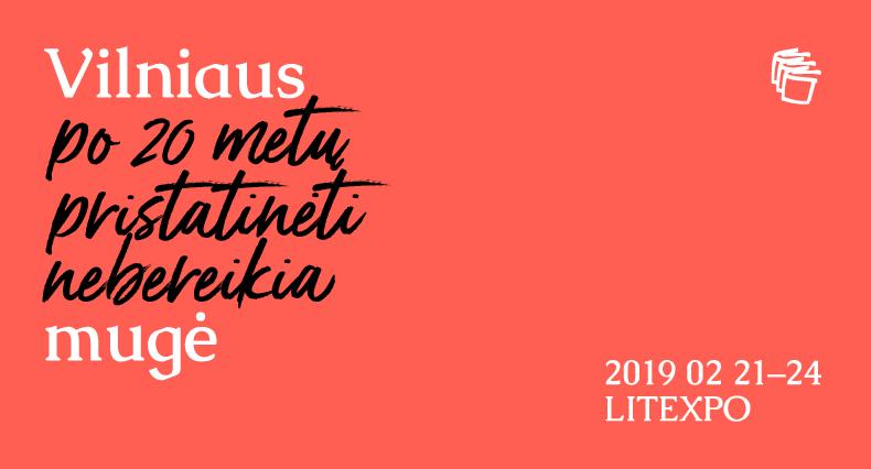 Vilniaus knygų mugė 2019: Knygos kino salės programa