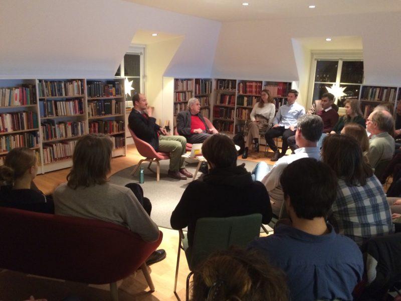 Tomas Venclova pristatė savo poezijos rinktinę švedų publikai