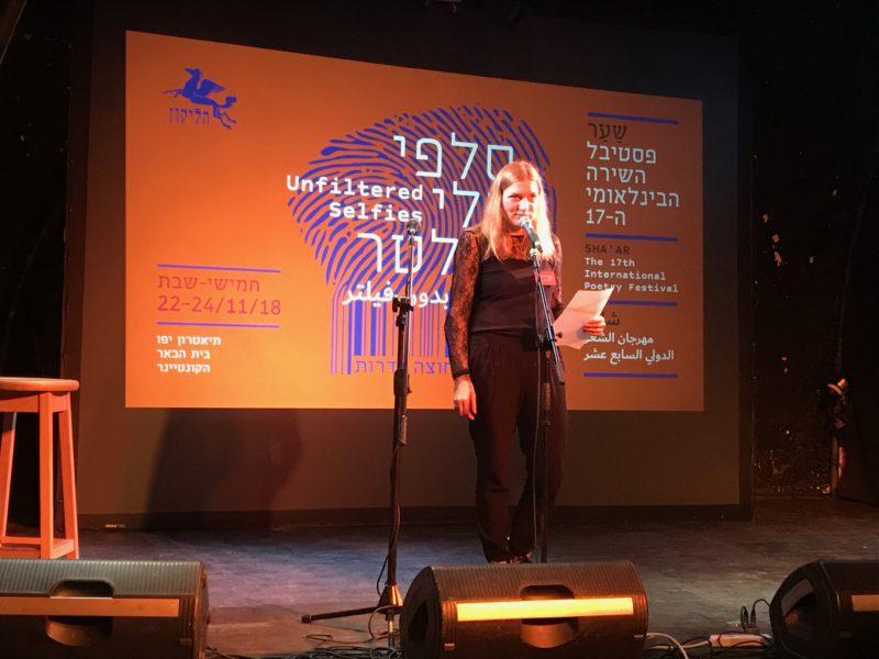 Lietuviška poezija skambėjo Tel Avive