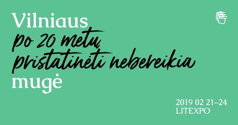 Vilniaus knygų mugė 2019: Diskusijų klubas