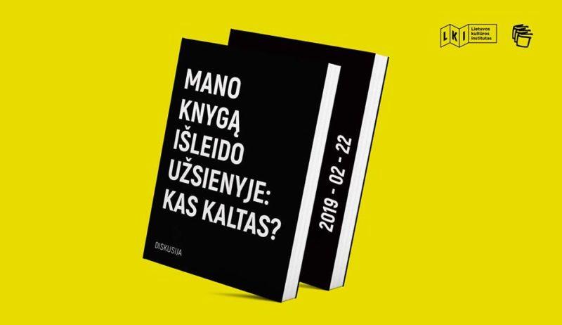 Lietuvos kultūros instituto renginiai Vilniaus knygų mugėje