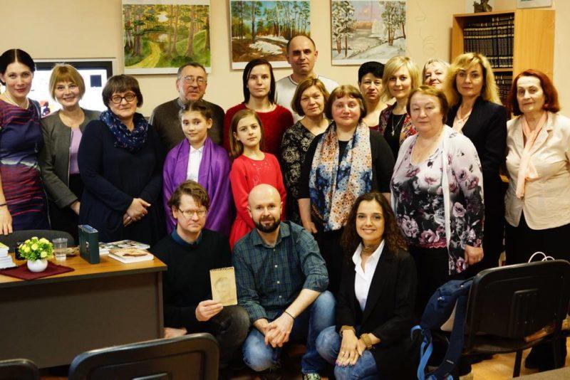 Iš Lietuvos literatūros dienų Kaliningrado apskrityje sugrįžus