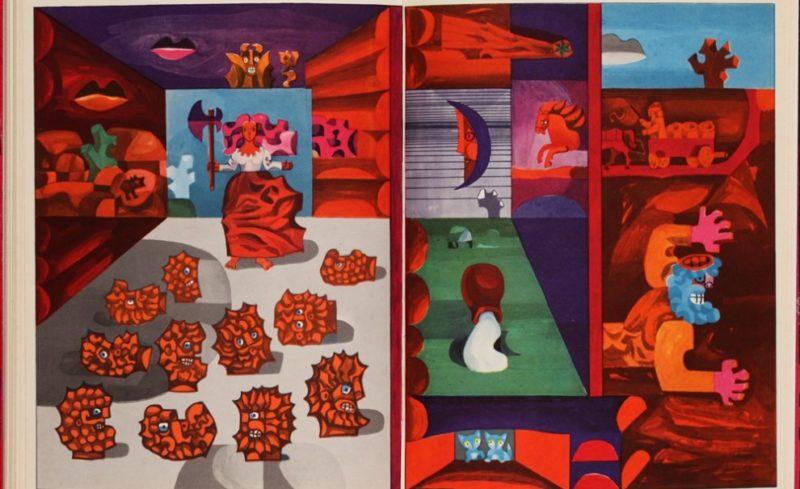 """Paroda """"Vaikų knygų iliustracija iš Sovietų Lietuvos (1940-1990): kelionė laiku ir kontekstu"""" Indijoje"""