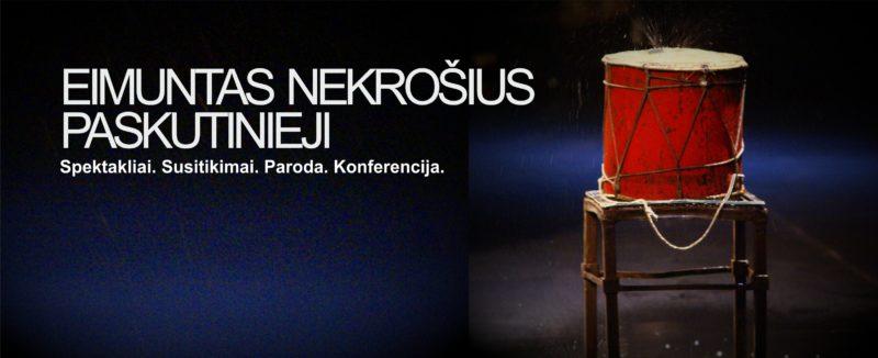 Eimunto Nekrošiaus atminimui skirti renginiai prasidės Neapolyje