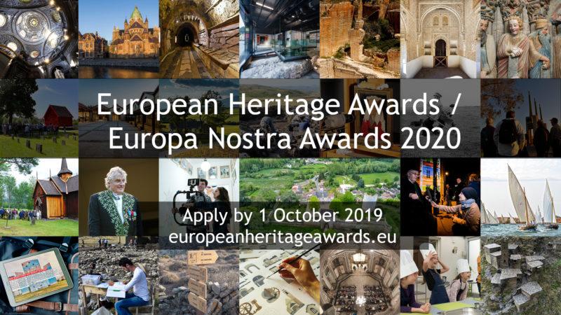 """Europos Sąjungos ir tinklo """"Europa Nostra"""" kultūros paveldo apdovanojimai!"""