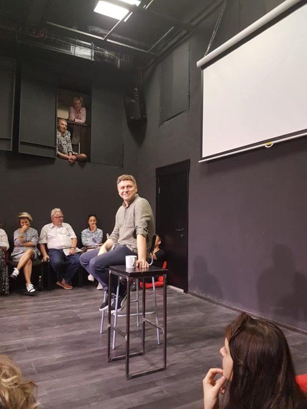 Marius Ivaškevičius jaunosios dramaturgijos festivalyje Liubimovka'2019 Maskvoje