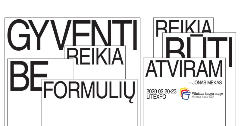 2020-ųjų Vilniaus knygų mugės Kultūrinių renginių programa