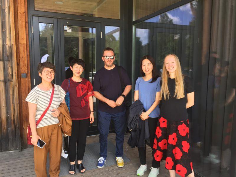 Du menininkai pakviesti į rezidencijas Pietų Korėjoje