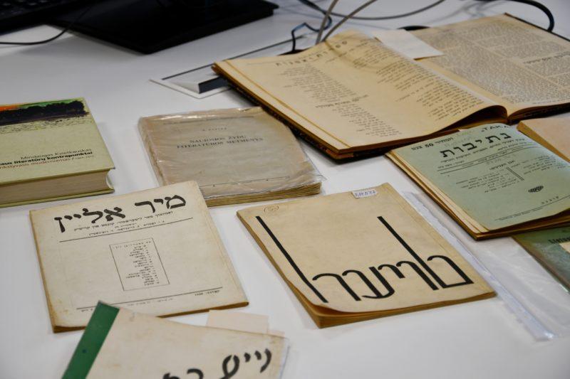 Vilniaus Gaono metams skirti renginiai Vilniaus knygų mugėje