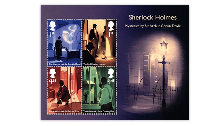 Britų Karališkasis paštas išleido Karolio Strautnieko dizaino pašto ženklus