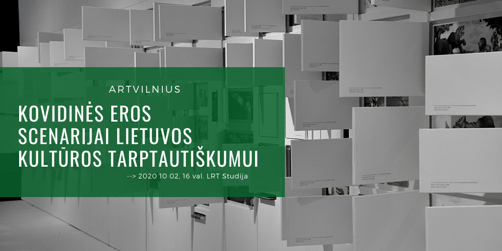 Lietuvos kultūros instituto diskusijos: ARTVILNIUS