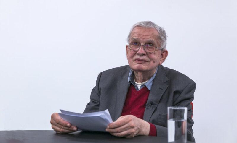 T. Venclova Nacionalinėje bibliotekoje atidarė tarptautinį literatūros festivalį