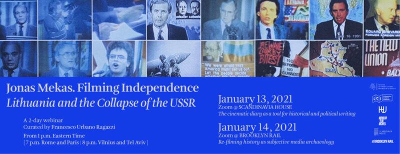 """Tarptautinėse diskusijose – žvilgsnis į Laisvės gynėjų dienos metines per Jono Meko kameros """"akį"""""""