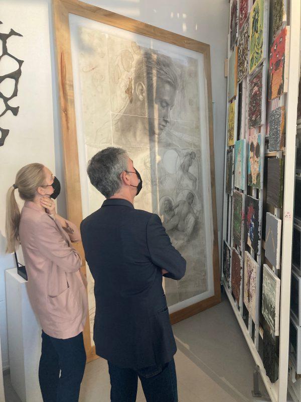 Užsienio meno ekspertai įveikė pandemijos nuotolį ir gyvai tyrinėjo Lietuvos šiuolaikinį meną