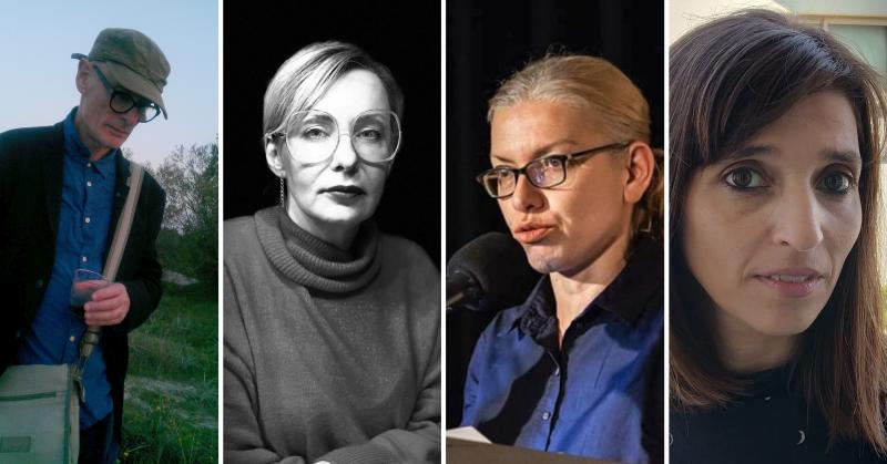 Keturių menininkų portretinės fotografijos