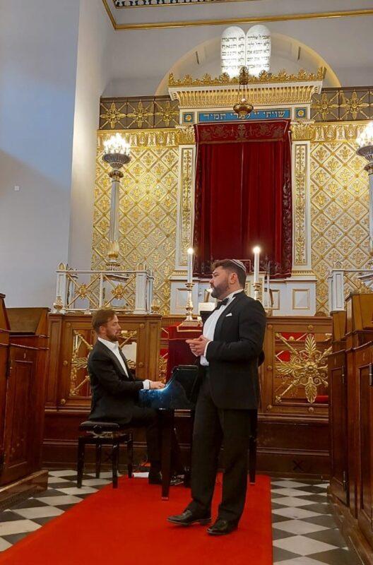 Tenoras Rafailas Karpis ir pianistas Darius Mažintas atidarė tarptautinį žydų kultūros festivalį Kopenhagoje