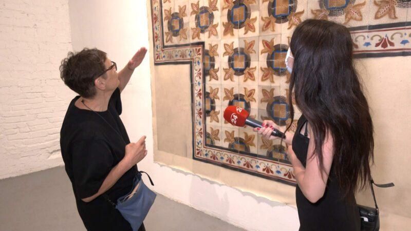 Kijeve atidaryta Eglės Ridikaitės darbų paroda